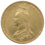 Gold Sovereign 1892 - Victoria Jubilee Head