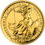British Gold Britannia 1/4 Oz 2014