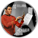 10 Dollars - Star Trek - Scotty 2016