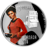 10 Dollars - Star Trek - Uhura 2016
