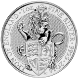 The Queen's Beasts The Lion 2 Oz 2016
