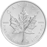 Maple Leaf 1 Oz 2018