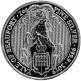 The Queen's Beasts The Yale 2 Oz 2019