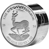 1.000 Francs Gabon The African Springbok 2014