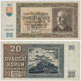 20 Ks 1939 - perforovaná -