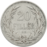 20 Fillér 1892 KB