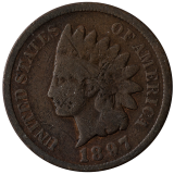 One Cent 1897