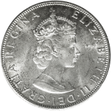 1 Crown 1964 - Elizabeth II.