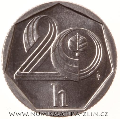 20 Haléř 1995 Hamburk