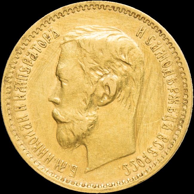 6f347cfb1 5 Rubl 1901 | Rusko | Numismatika Zlín